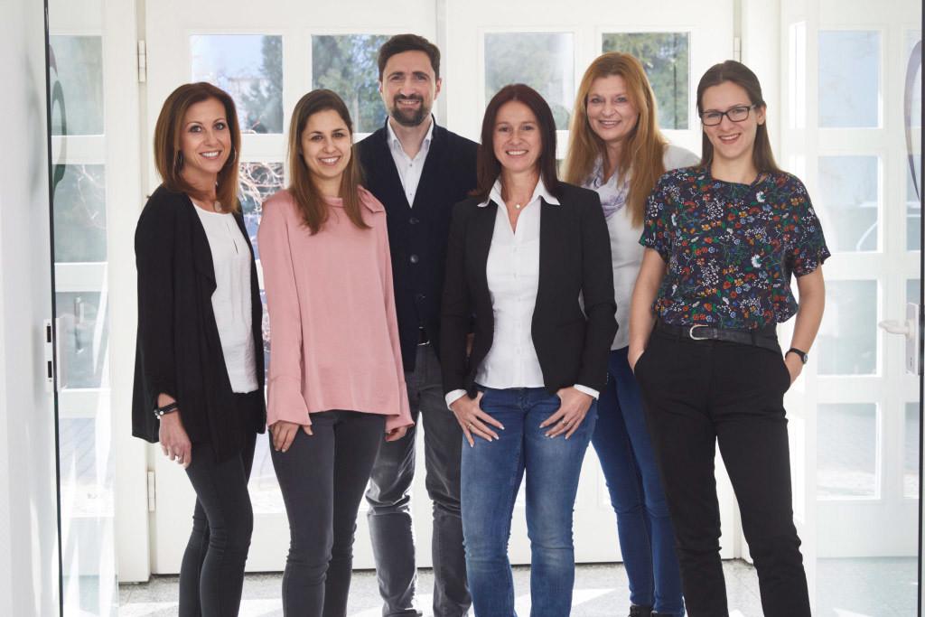 Teamfoto Pflegehelden Lörrach 2018